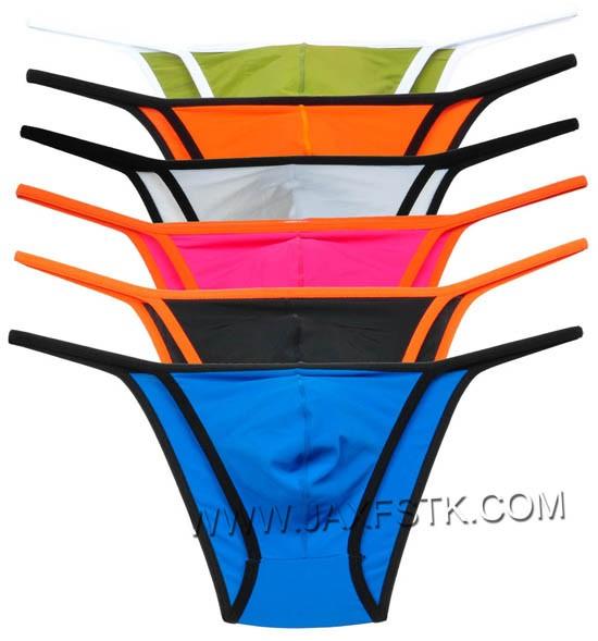 Avant Garde Men's Underwear Skimpy String Bikini Pouch Thong Pants MU397