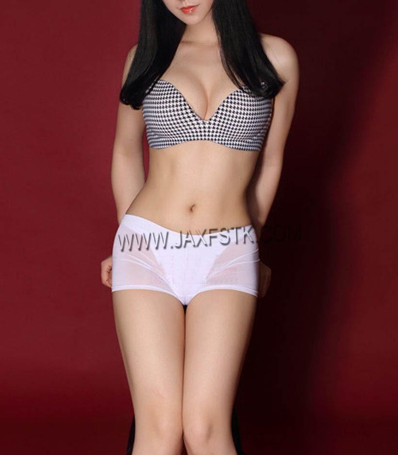 Women's Super Sexy Semi See-Through Shorts Underwear Elastic Strecthy Slim Fit Leggings Transparent Boxers Black White M L XL For Choose