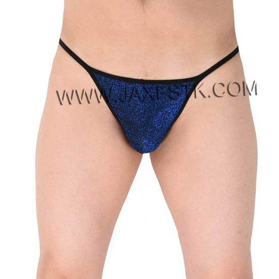 Male G-String Men Mini Bikini Shiny Tanga Elastic Soft Thong Gay Underwear
