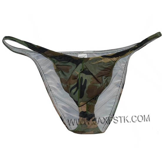 Men Camouflage Trunk Fitness Posing Underwear Hot Beachwear Board Pouch Briefs