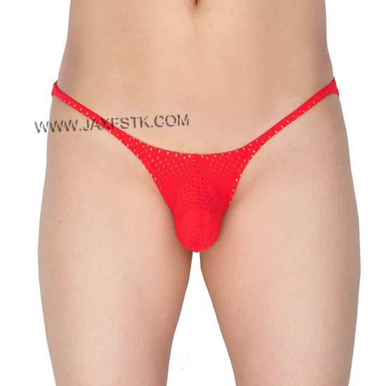 Men's Briefs Breath Holes Bikini Stretch Underwear Bulge Pouch Micro Briefs
