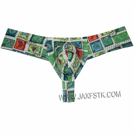 Men's Bulge Pouch Boxers Print Male Underwear Micro Boxers Bikini Hombre Boxer Mini Boxers