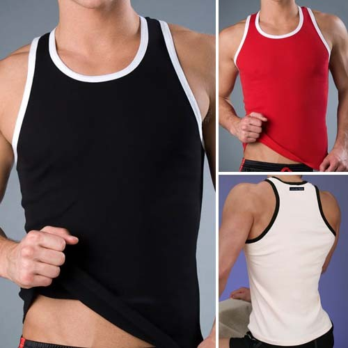 New Sexy Men's Modal Underwear Tank Top MU238