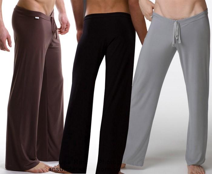 Wide leg Men's Casual long Trousers pants Size S/M/L  MU519
