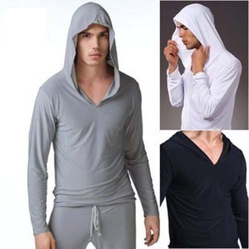 Men's Hoodie Tee Casual long sleeve Tshirts Collection MU520