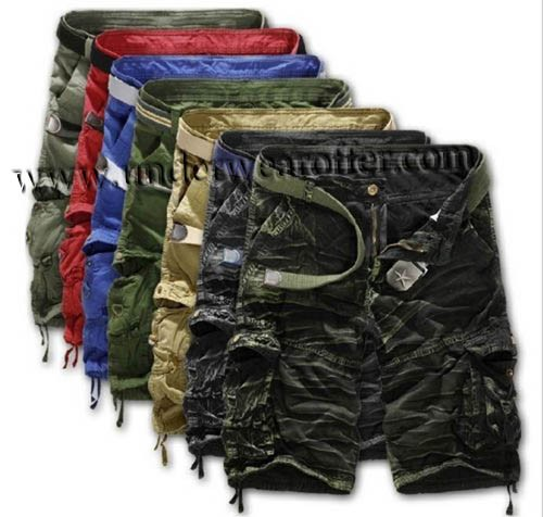 NWT Men Casual Army Cargo Combat Camo Camouflage Overall Shorts Sports Pants MU947 8 Colors For Choose