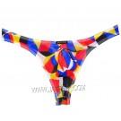 Men's Stretch & Soft Tanga Bikini T-Back Underwear Bulge Pouch Micro Mesh Thong