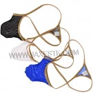 Sexy Men Transparent Underwear Sexy Hip T-back Male Thong Underwear Tanga Hombre