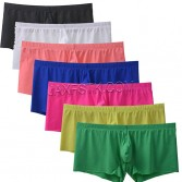 Sexy Ultra Thin Comfy Shorts Men's Nylon Stretchable Seamless Underwear  Everyday Underpants Mens Boxer Briefs TS2109