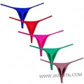 Sexy Men's Spandex Bulge Pouch Micro Thong Underwear Super Stretchy Male G-string Swimwear Micro Bikini T-back Guys Tangas