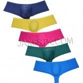 Sexy Spandex Boxers Brand Underwear  New Premium Men Cheeky Boxer Briefs Soft Boyshorts Stretch Trunks TS707-6N