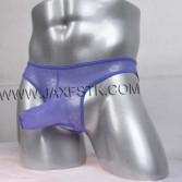 Men Jacquard Briefs Long Pouch Male Lace Nuts Out Briefs Bikini gay men Briefs jock strap underwear