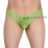 Men Hollow Gay Jacquard Underwear Pouch Mini Briefs Bikini Pattern Briefs