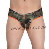 Men Pants Bikini Boxer Men's Camouflage Sexy Mini Boxers Super Soft & Smooth Gay Underwear