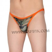 Men's Camouflage Briefs Underwear Male String Crotch Bikini Briefs