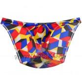 Men Stretch Briefs Colorful Underwear Bulge Pouch Micro Mesh Briefs