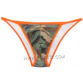 New Men's Camouflage Bikini Briefs Underwear Pouch Rope Side Open Brief