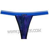 Starry Sky Men Wide Pouch T-Back Underwear Belt Mini String Bikini Tanga XMU227