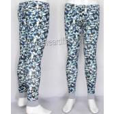 Men Cotton Camouflage Thermal Underpants Underwears Trouser Long John Warm Pants MU209X