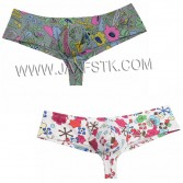 Fashion Flowery Sexy Pouch Bikini Men's Boxers Comfy Cotton Men Underwear Soft Underpants Smooth Boxer Shorts Male Under shorts Bottom