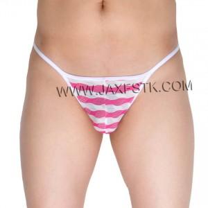 Men's Open Crotch Briefs  Underwear Grille Cloth Cheeky Briefs Man Bikini