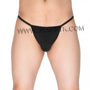 Sexy Men's Cotton Stretch Thong Underwear Soft Micro Cut G-String Hip Tangas
