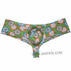 Men's Print Underwear Spotrs Micro Boxers Bulge Pouch Boxers Bikini Hombre Boxer