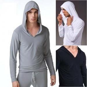 Men's Hoodie Tee Casual long sleeve Tshirts Collection MU520
